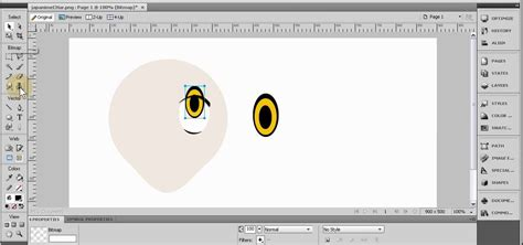 drawing website how to draw a anime character in adobe fireworks