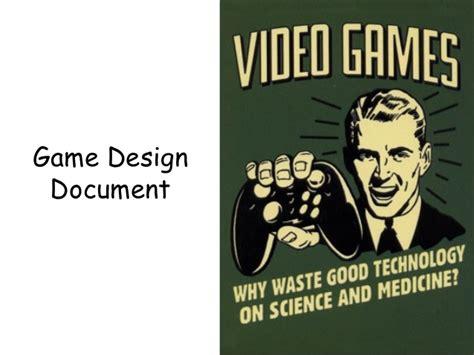 game design document zelda creating a game design document