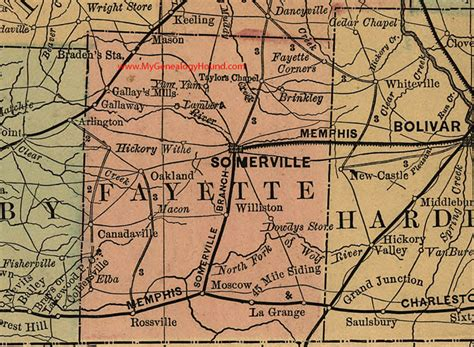 Fayette County Tennessee Records Moscow Mills