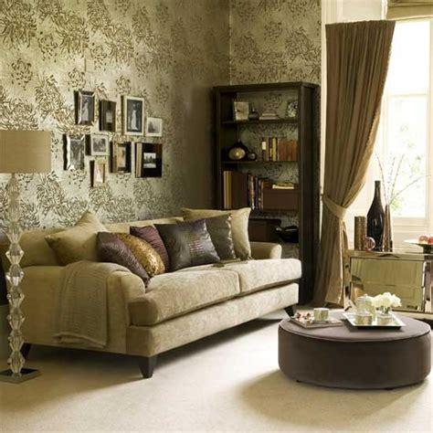 Gold Living Room by Metallic Living Room Housetohome Co Uk