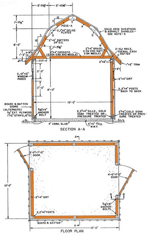 gambrel roof barn plans 34 x36 gambrel roof barn plans