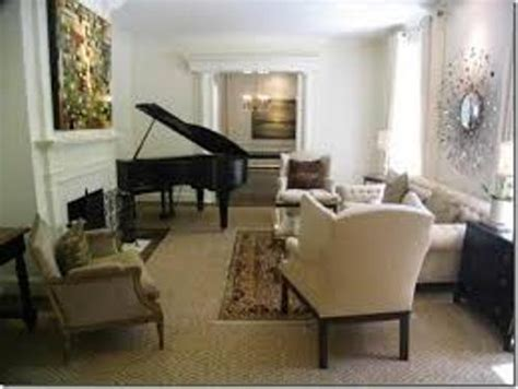 Living Room Layout With Upright Piano How To Arrange Furniture Around A Baby Grand Piano 4
