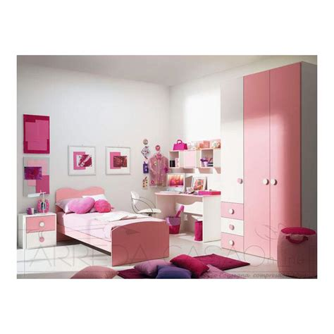 scrivania bambina cameretta bambina armadio scrivania rosa marika 08ph035