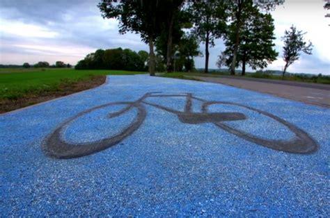 guenes enerjisi ile parildayan bisiklet yolu teknolsun