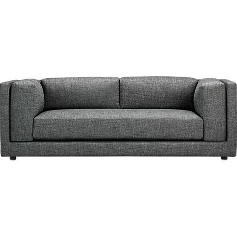 cb2 sofa bolla carbon sofa cb2
