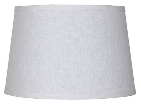 spider drum l shade white linen drum l shade 10x12x8 spider home