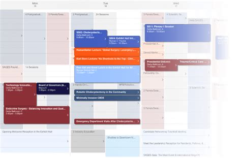 planning online online itinerary planner eventpilot conference apps by