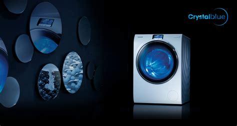 Mesin Cuci Samsung Cristal Blue blue