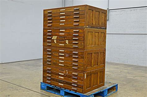 used flat file cabinet for sale hamilton wood flat filing cabinets boggs equipment