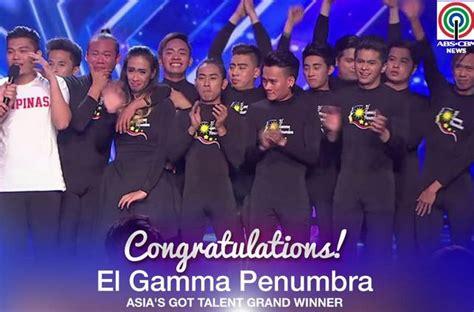 el gamma penumbra asia s got talent vote el gamma penumbra wins asia s got talent 2015 video