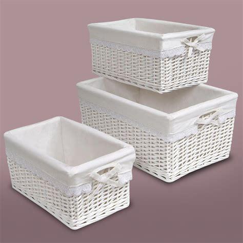 white with baskets nursery basket thenurseries