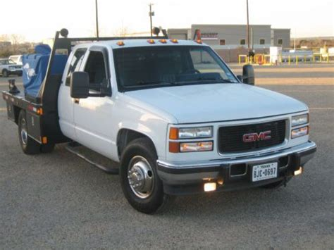how to work on cars 1994 gmc 3500 interior lighting buy used 1995 gmc slt 3500 1 ton welding rig in for us 7 850 00