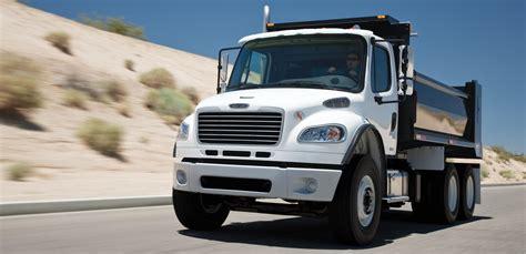 freightliner dump truck dump truck vocational trucks freightliner trucks