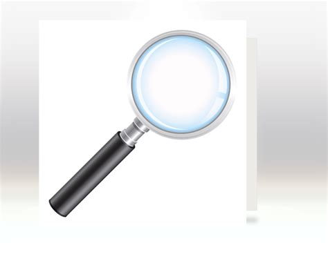 How To Make A Magnifying Glass Out Of Paper - learn how to create a real magnifying glass