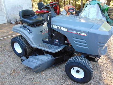 Craftsman Lt1000 Riding Lawn Mower 600 Conover