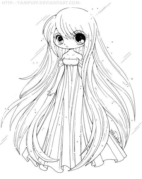 cute anime chibi girl coloring pages 15 cute chibi coloring pages printable print color craft
