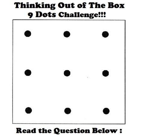 think outside the box puzzle world of inspirations and innovations part 11