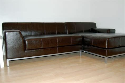 chaise lounge ottawa ikea kramfors brown leather sofa chaise lounge right