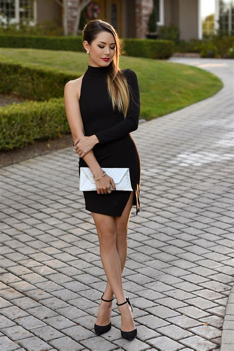 Mirszha Cross Plain Sandals 7 Styles You Can Create With Your Black Dress Glam Radar