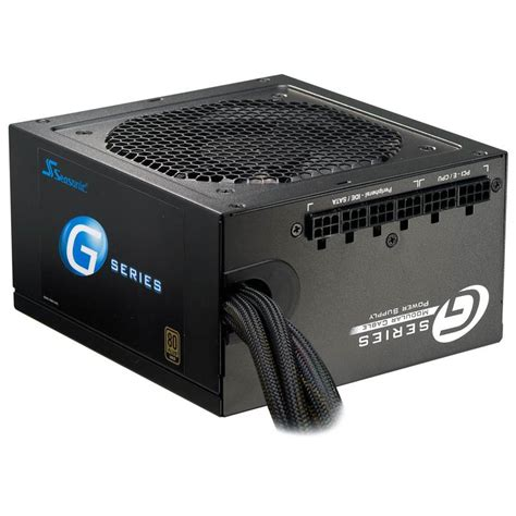 Psu Seasonic G 450 450w Modular 80 Gold Original seasonic g 450 450w 80 gold semi modular power supply g
