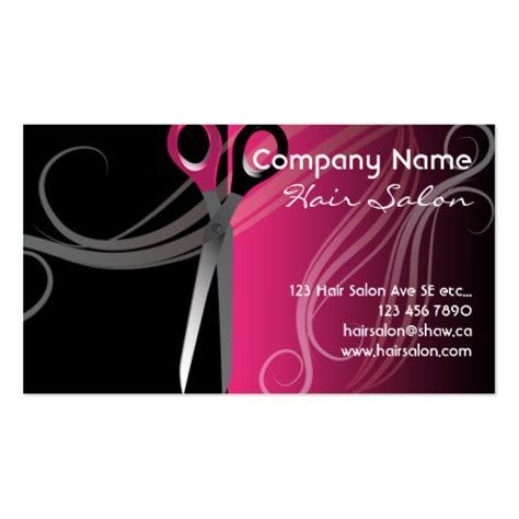 salon business cards 16000 salon business card templates