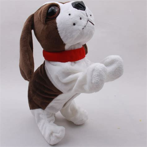 electronic puppy sound electronic dogs interactive electronic pets robot bark stand walk