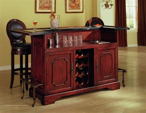 home bar with granite top canterbury home bar w granite top and cherry finish