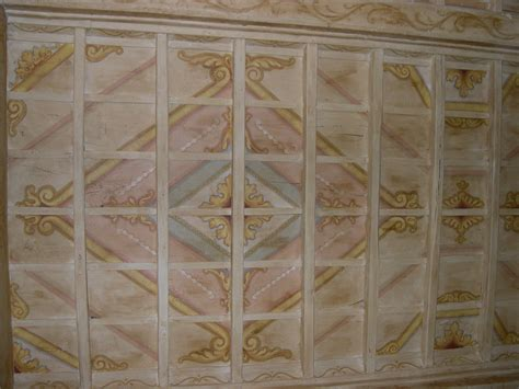 pittura per soffitti soffitti in legno dipinti
