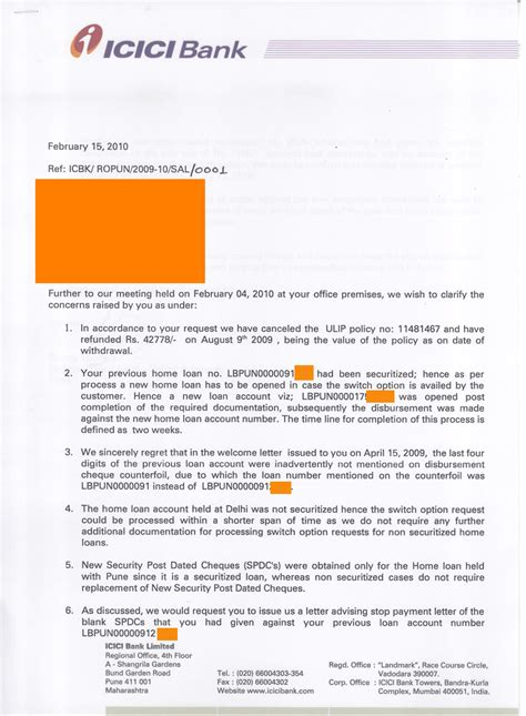 Icici Bank Letter Of Credit icici pune home loan dept duped me just another weblog