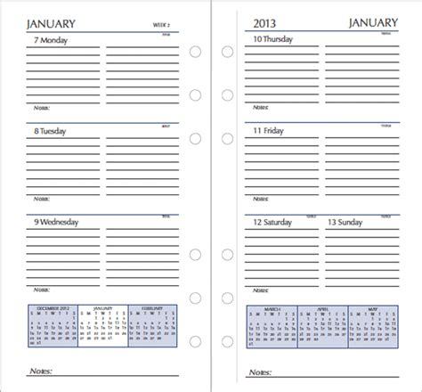 printable planner refills 2016 free monthly planner template 2013 jordangett