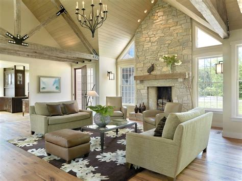 Living Room Ceiling Ls Living Room Vaulted Ceiling Fireplace Www Energywarden Net