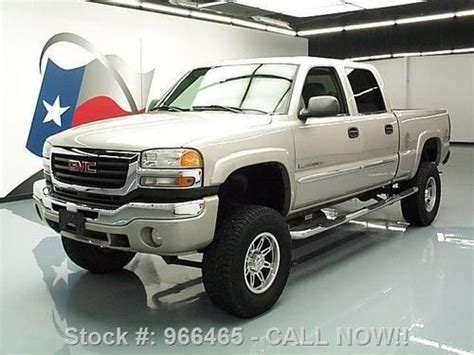 how do i learn about cars 2005 gmc yukon xl 1500 regenerative braking purchase used 2005 gmc sierra 2500hd crew 4x4 lifted side steps 65k texas direct auto in