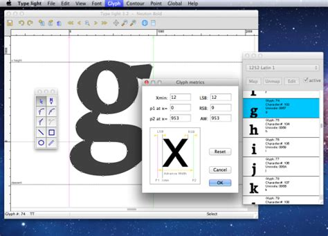 font design mac software type light download and install mac