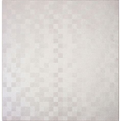 pizzaz cube rectified white tiles 500 x 500mm