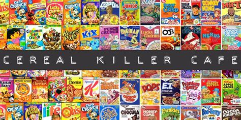 Coffee Bar Toppings Cereal Killer Cafe The New Coffee Trend Trendengel Com