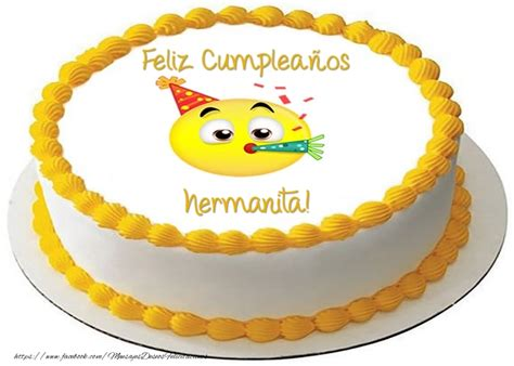 imagenes cumpleaños hermana para facebook felicitaciones de cumplea 241 os para hermana tarta feliz