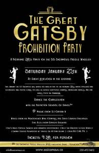 the great gatsby prohibition party ss sicamous