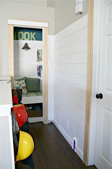 Adding Shiplap To Walls Finished Shiplap Walls And Farmhouse Door Trim In The Loft