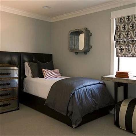 Blue Bedroom Trunk Built In Dresser Eclectic Bedroom Eric Design