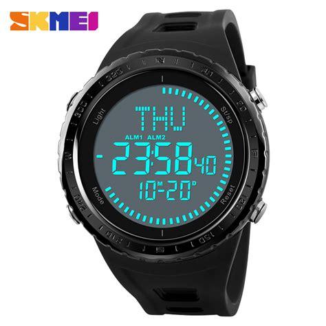 Skmei Jam Tangan Digital Pria Dengan Kompas 1259 skmei jam tangan digital pria kompas 1342 army green jakartanotebook