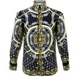 versace trend base stamped nero shirt v300154