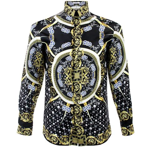 Versace Shirt versace trend base sted nero shirt v300154