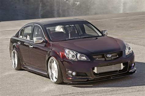 modified subaru legacy luxury subaru legacy vip concept revealed at 2009 sema