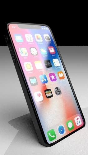 iphone x 3d model cgtrader
