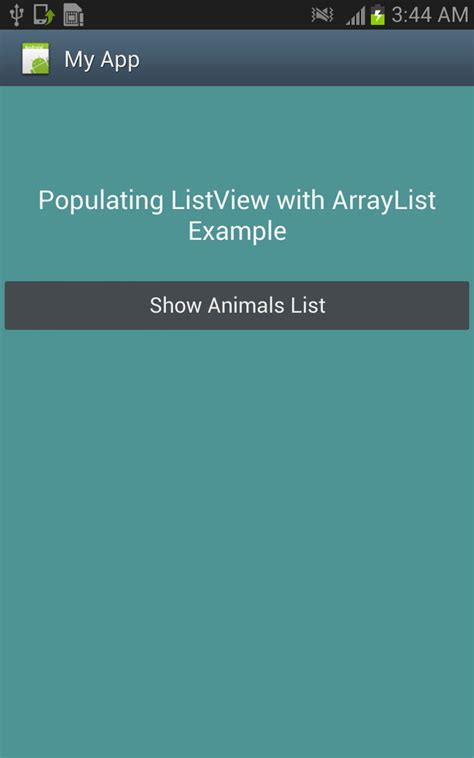 android arraylist android tutorials for beginners populating listview with arraylist