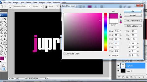 tutorial adobe photoshop efek tulisan cara membuat efek pelangi atau rainbow dengan adobe