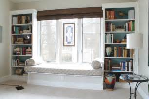 window seat and bookshelves built in window seat with bookcases chicago redesign