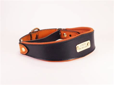custom leather collars custom leather martingale collars l leather martingale collar
