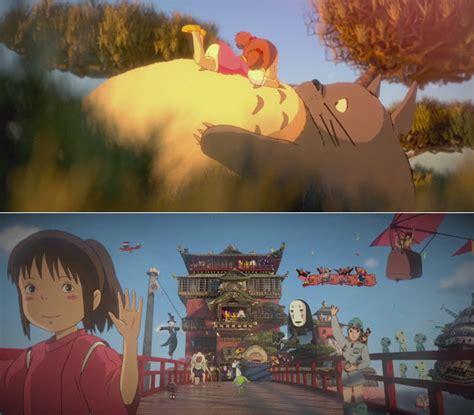 first studio ghibli film ever made beautiful 3d stylized tribute to hayao miyazaki films
