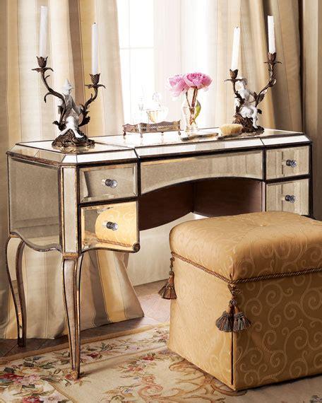 Antique Mirrored Vanity by Mirrored Vanity